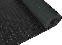 Coin Rubber Sheet/Floor