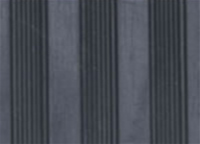 Fine Flat Ribbed Rubber Sheet
